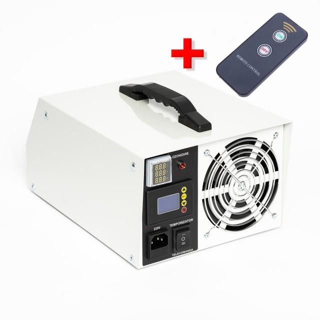 Generator Ozon OxyCare Hobby 20 cu temporizator electronic și telecomandă, 20g ozon/ h