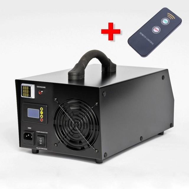 Generator Ozon OxyCare Profesional H80 cu temporizator electronic și telecomandă, 80g ozon/ h