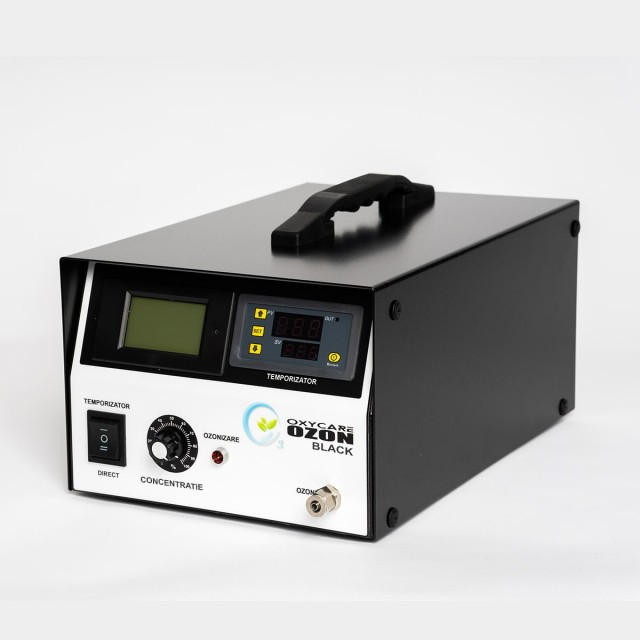 Generator Ozon pentru uz profesional OxyCare Black 5, temporizator electronic, 5g ozon/ h